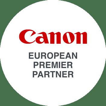 Canon Premier Partner Logo