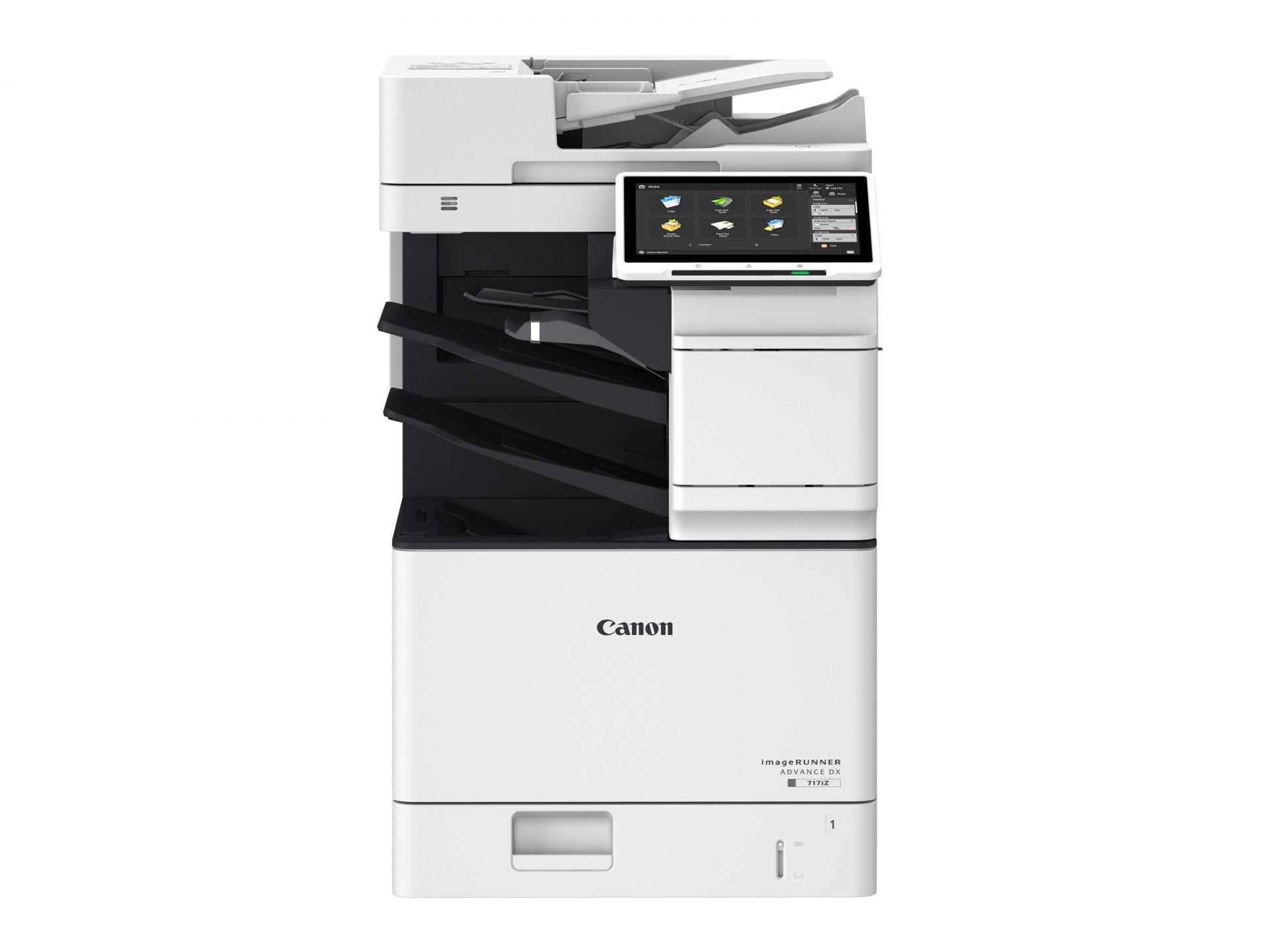 Office multifunction printer Imagerunner Advance DX 717
